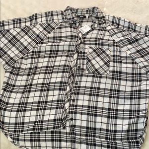 Oversized flannel shirt from Urban Outfitters